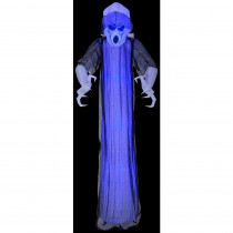 Airblown 3 ft. W x 8 ft. H Inflatable Lightshow Shortcircuit Frightening Ghost