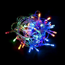 Aleko 10 ft. 30-Light LED Multi-Color Battery Operated String Light
