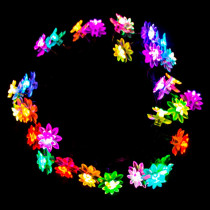 Aleko 30 LED Multi-Color Flower String Light