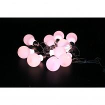Alpine 10-Light LED White String Light Edison Bulbs Set (Set of 10)