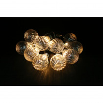 Alpine 10-Light LED Bulb Textured Edison String Light Set (Set of 10)