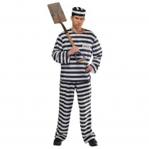 Amscan Mens Jail Bird Halloween Costume Standard