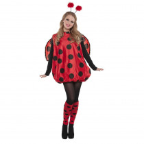 Amscan Womens Darling Ladybug Halloween Costume Standard