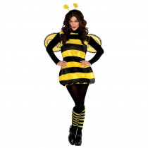 Amscan Darling Bee Women's Halloween Costume Standard
