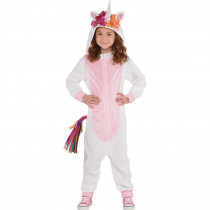 Amscan Kid's Unicorn Zipster Halloween Costume, Medium