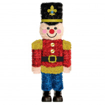 Amscan 14.75 in. x 6.25 in. Christmas Nutcracker 3D Centerpiece (2-Pack)
