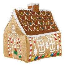 Amscan 13.25 in. x 7 in. Gingerbread Christmas Hat