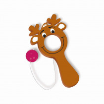 Amscan Reindeer Christmas Bulls Eye Game (12-Count 4-Pack)
