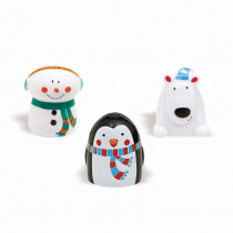 Amscan Winter Christmas Finger Puppets (12-Count 3-Pack)