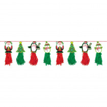 Amscan 8 ft. Christmas Tassel Garland (2-Pack)