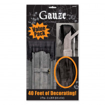 Amscan 20 ft. x 2 ft. Halloween Gauze Cloth (2-Count )