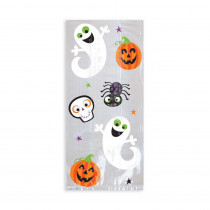 Amscan 11.5 in. x 5 in. x 3.25 in. Halloween Cello Bag (20-Count, 5-Pack)