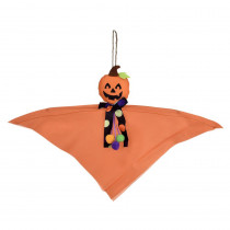 Amscan 12 in. Halloween Value Jack-O ft.-Lantern Hanging Decoration (8-Pack)