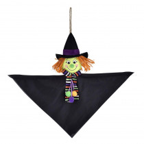 Amscan 12 in. Halloween Value Witch Hanging Decoration (8-Pack)