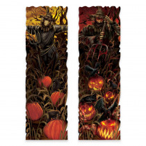 Amscan 37 in. Halloween Field of Screams Lenticular Sign