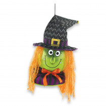 Amscan 18.25 in. Halloween Jumbo Witch Door Decor