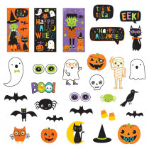 Amscan 65 in. Halloween Friends Mega Value Pack Scene Setters Wall Decorating Kit
