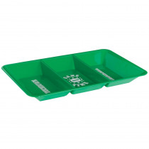 Amscan 9.5 in. x 1.25 in. Football Divided Snack Tray