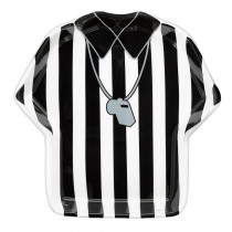 Amscan 12 in. x 1.5 in. Football Referee Tray