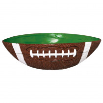 Amscan 12.25 in. x 4.25 in. Large Football Bowl
