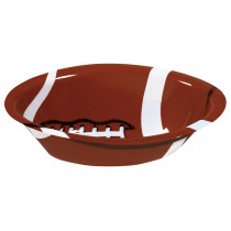 Amscan 14.5 in. x 3.5 in. Football Serving Bowl