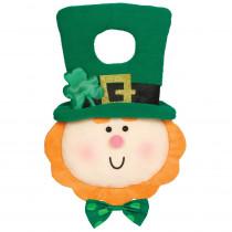 Amscan 12 in. St. Patrick's Day Leprechaun Plush Door Hanger (2-Pack)
