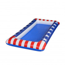 Amscan 4.5 in. x 24 in. x 48 in. Patriotic Inflatable Cooler
