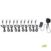 6-Watt Low-Voltage 10-Light Mini String for Solar Deck, Dock and Path Light