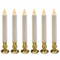 Brite Star Wireless LED Candles (6-Set)