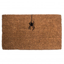 Entryways Spider 18 in. x 30 in. Hand Woven Coconut Fiber Door Mat