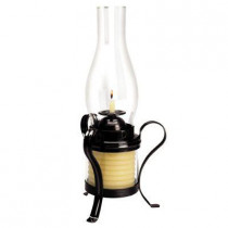 Candle by the Hour 40-Hour Coil Candle with Hurricane Lamp