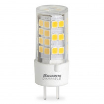 Bulbrite 60-Watt Equivalent T4 Non-Dimmable Bi-Pin (GY6.35) LED Light Bulb Warm White Light (2-Pack)