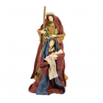 12 in. Holiday Holy Family Figurine