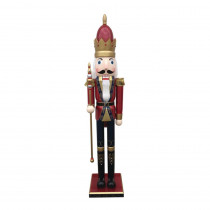 80 in. His Royal Majesty Nutcracker with Scepter
