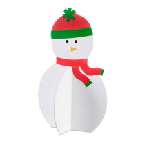 13 in. Christmas Roger the Snowman Decoration