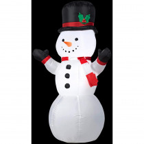 2.6 ft. W x 4 ft. H Outdoor Snowman