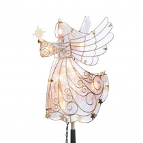11 in. H Electric Angel Tree Topper