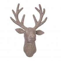 18.5 in. H Jeweled Reindeer Antler