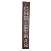 40 in. Wood Christmas Sign