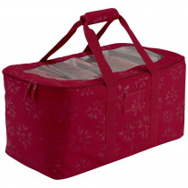 Classic Accessories Cranberry Seasons Holiday Lights Storage Duffel