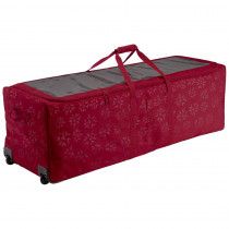 Classic Accessories Cranberry Artificial Tree Storage Bag for Trees Up to 9 ft. Tall Seasons Holiday Tree Rolling Storage Duffel