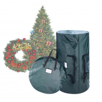 Elf Stor Green Extra-Large Artificial Tree and Wreath Storage Bag for Trees up to 9 ft. Tall