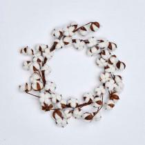 20 in. Cotton Wreath