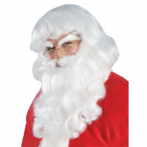 Forum Novelties Men's Santa Claus Wig and Beard Set