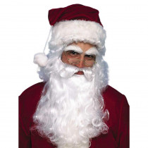 Forum Novelties Economy Santa Beard and Wig Set