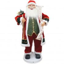 Fraser Hill Farm 36 in. Christmas Dancing Santa with Scroll