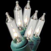 GE Pro-Line 300-Light Clear Commercial Grade Miniature Light Set on Reel