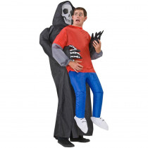 Gemmy Inflatable Grim Reaper Victim Adult Costume