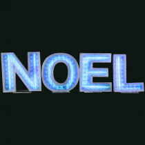 Gemmy Lights Shadow Box NOEL Letters