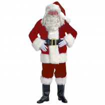 Halco XXL Professional Velvet Santa Claus Suit